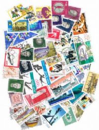 50 different East Germany Semi-Postals packet